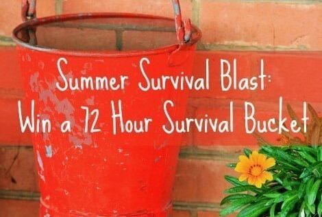 Summer Survival Blast: Win a 72 Hour Survival Bucket
