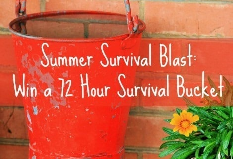 72 Hour Survival Bucket