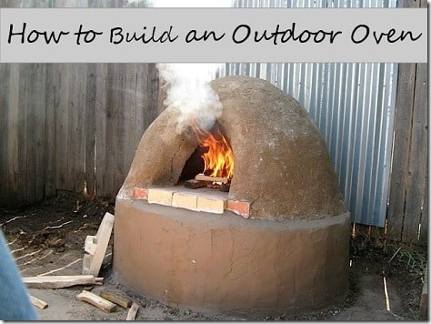 How to Build an Outdoor Oven