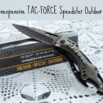 The Inexpensive Tac-Force Speedster Outdoor Knife