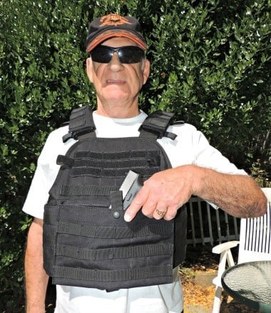 infidel body armor front pocket
