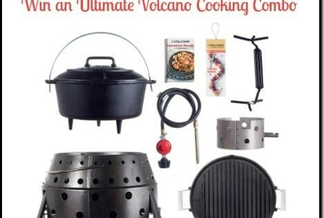 Summer Survival Blast: Win an Ultimate Volcano Cooking Combo