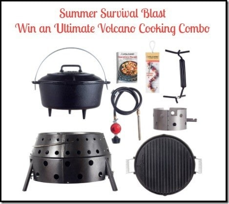 ultimate volcano cooking combo giveaway