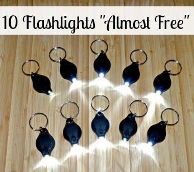 10 flashlights AlmostFree 380