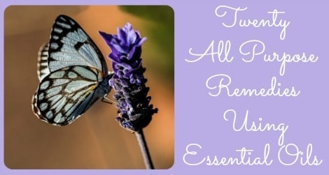 20 All Purpose Remedies Using Essential Oils