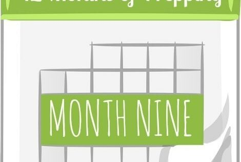 12 Months of Prepping: Month Nine