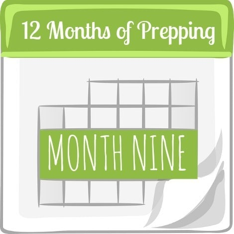 12 Months of Prepping Month Nine | via www.backdoorsurvival.com