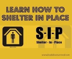 Learn How to Shelter in Place