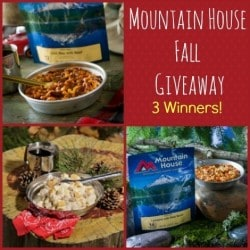 Mountain House Giveaway | Backdoor Survival