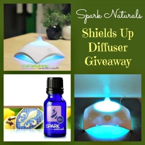 Spark Naturals Shields Up Diffuser Giveaway 470