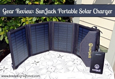Sunjack Solar Charger Review