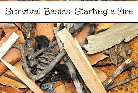 Survival Basics: Starting a Fire