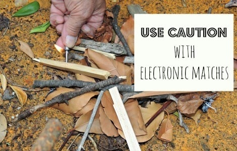 Use Caution with Electronic Matches