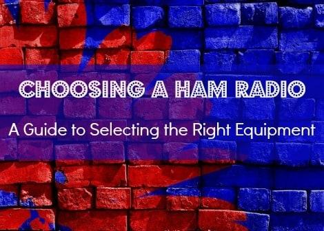 choosing a ham radio