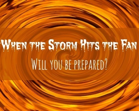 Disaster Preps: When the Storm Hits the Fan | Backdoor Survival