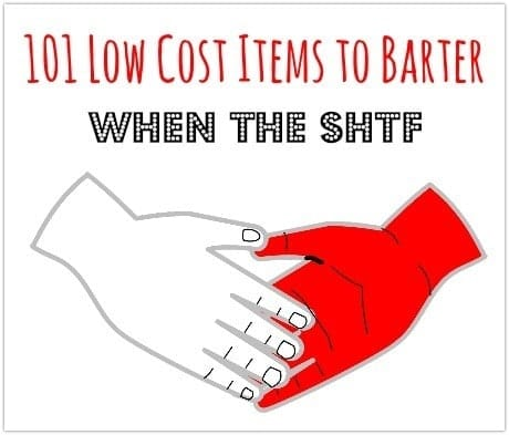 101 low cost items to barter