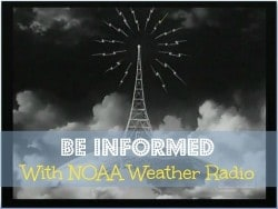 Fast Track Tip #11: Be Informed With NOAA Weather Radio