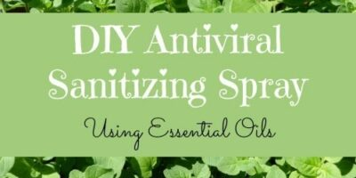 DIY Antiviral Sanitizing Spray: When Hand Sanitizer is Not Enough