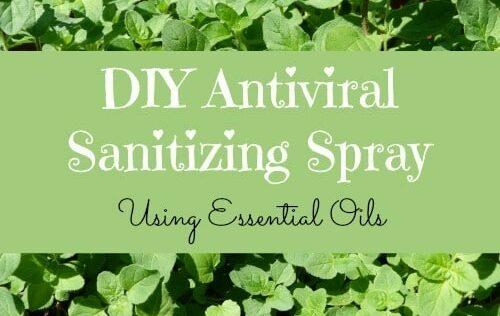 DIY Antiviral Sanitizing Spray: When Hand Sanitizer is Not Enough