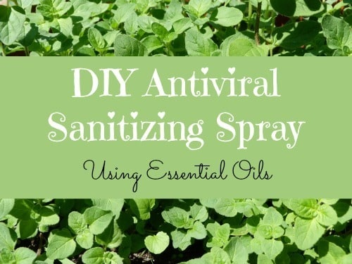DIY Antiviral Sanitizing Spray
