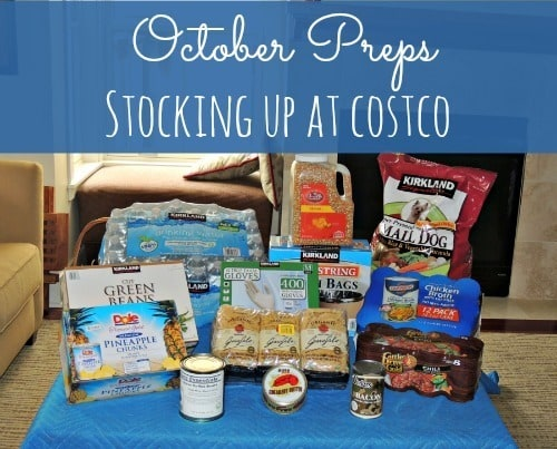 Oct Preps Costco