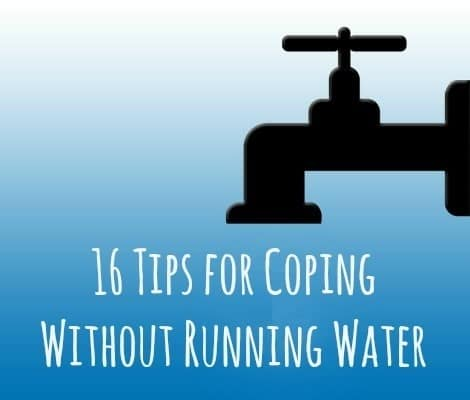 16 Tips for Coping Without Running Water | Backdoor Survival