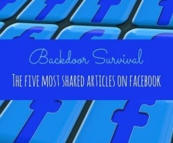 The Five Most Shared Articles on Facebook