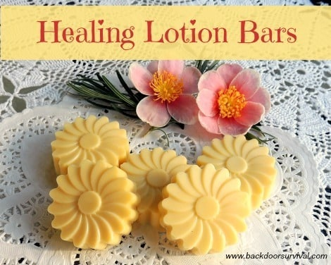 DIY Healing Lotion Bars - Backdoor Survival
