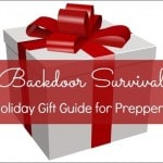 Backdoor Survival Holiday Gift Guide for Preppers
