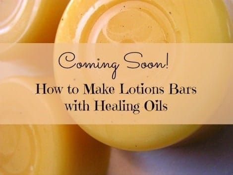 Lotion Bars Coming Soon