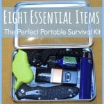 8 Essential Items: The Perfect Portable Survival Kit