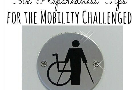 Six Preparedness Tips for the Mobility Challenged