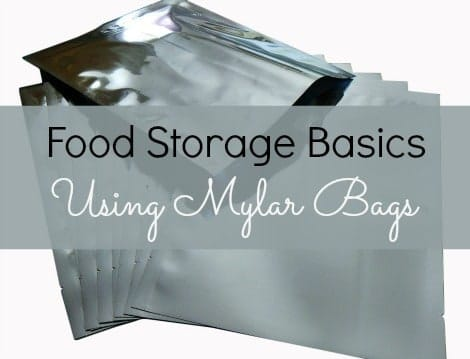 Everything you need to know to use Mylar bags for food storage |www.backdoorsurvival.com|