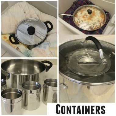 Wonder Oven containers