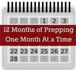 12 Months of Prepping   Backdoor Survival
