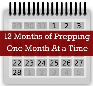 12 Months of Prepping – The First Year
