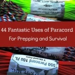 44 Fantastic Uses of Paracord for Prepping and Survival