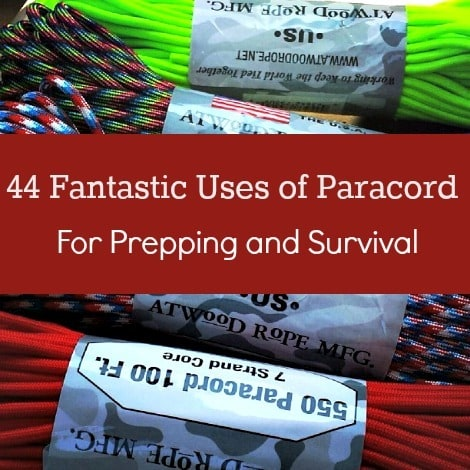 44 Fantastic Uses of Paracord for Prepping & Survival |Backdoor Survival|