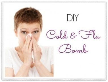 DIY Cold and Flu Bomb