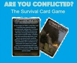 Conflicted: The Survival Card Game  Backdoor Survival 