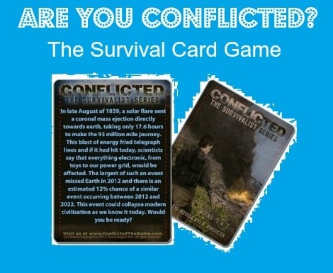 Conflicted: The Survival Card Game |Backdoor Survival|