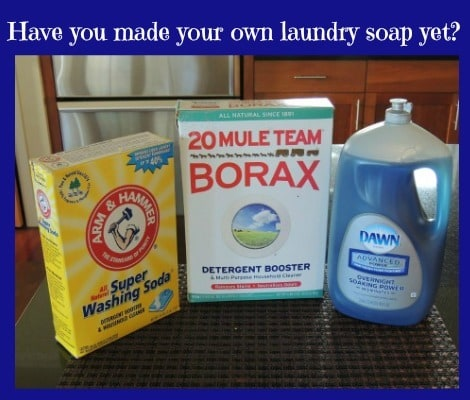 DIY Laundry Soap - Backdoor Survival