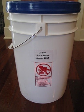 Be sure to label your food storage buckets - Backdoor Survival