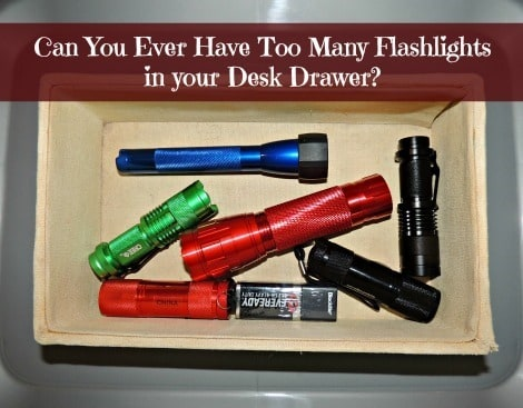 The Survival Buzz Asks: Can you ever have too many flashlights?