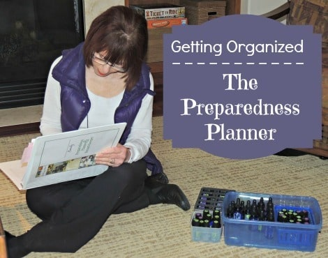 Getting Organized with the Preparedness Planner