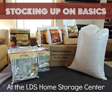Stocking up on Basics at the LDS Home Storage Center |Backdoor Survival|