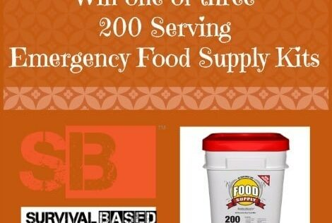 Free Food Friday: Win an Emergency Food Supply Kit from Survival Based