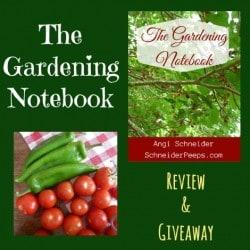 The Gardening Notebook Review - Backdoor Survival