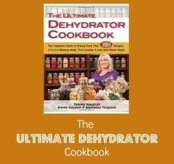 BDS Book Festival 7: The Ultimate Dehydrator Cookbook