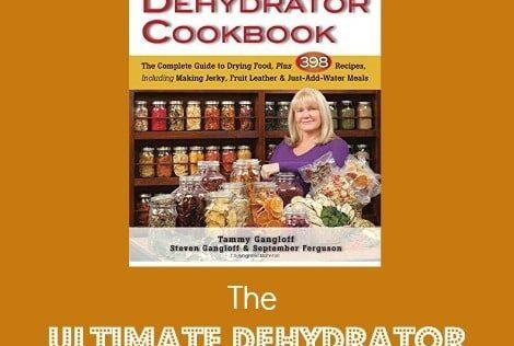 BDS Book Festival 7: The Ultimate Dehydrator Cookbook
